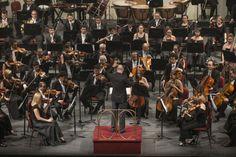 Las 9 sinfonías de Beethoven. Concierto 2. Orquesta Filarmónica de Santiago. Dirección: José Luis Dominguez. Foto: Patricio Melo.