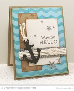 Sailor's Knot Tutorial and Card Construction