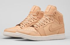 detailed look 90f5c 3cde2 The Nike Air Jordan 1 Pinnacle  Vachetta Tan  editions are set to drop in  the UK   Europe on 2 OCT 2015 with the premium stockists provided below.