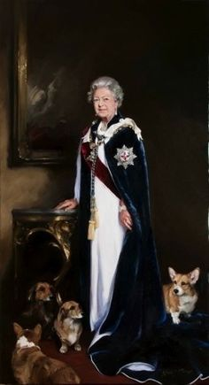 Elizabeth II - New portrait commissioned by Royal Mail for UK stamps.