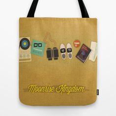 Moonrise Kingdom Tote Bag by Lindsey Pudlewski - $22.00