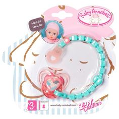 Superb Baby Annabell Dummy with Clip Now at Smyths Toys UK. Shop for Baby Annabell At Great Prices. Baby Dolls For Kids, Baby Kids, 9 Year Old Christmas Gifts, Baby Annabell, Baby Born Clothes, Barbie Doll Set, Toddler Girl Gifts, Baby Doll Nursery, Baby Binky