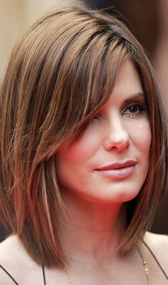 6ff6db4200 5 Flattering Hairstyles For Long Faces ... - 99Haircuts