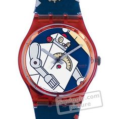 Swatch Roboboy GR135 - 1997 Fall Winter Collection (another wishlist ...)