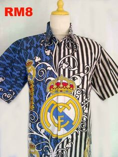 Real Madrid Soccer Club Batik