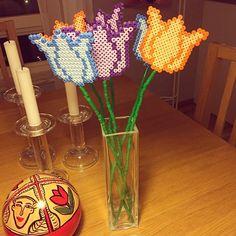 Tulips nabbi beads by ididoodi