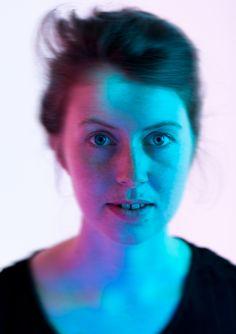 #photography #fotografie #portrait #farbe #colour #blur #motionblur #girl #theresa #loucielle #blue #pink #www.andrewunstorf.de