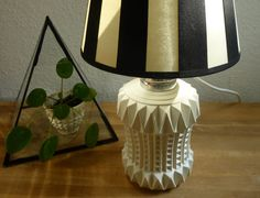 Vintage Beleuchtung - Vintage Tischlampe Lampe Schreibtischlampe - ein Designerstück von flohmarkt-schaetzchen bei DaWanda