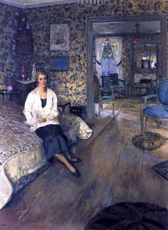 ⍕ Paintings of People & Pets ⍕  Edouard Vuillard | Countess Marie-Blanche de Polignac, 1928-32