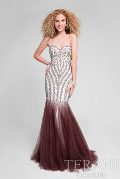 All eyes will be centered on you in this Crystal Embellished Strapless Mermaid Prom Dress by Terani Couture. This luxurious style includes a strapless sweetheart neckline for a sweet and dainty look. The body form fitting body of this dress includes Prom Dresses Miami, Mermaid Prom Dresses, Event Dresses, Cheap Prom Dresses, Bridesmaid Dresses, Formal Dresses, Mermaid Gown, Mermaid Skirt, Beautiful Dresses