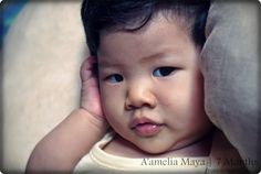 Not Just A Mom by Pinkversations: A'amelia at 7 Months - Why So Serious?