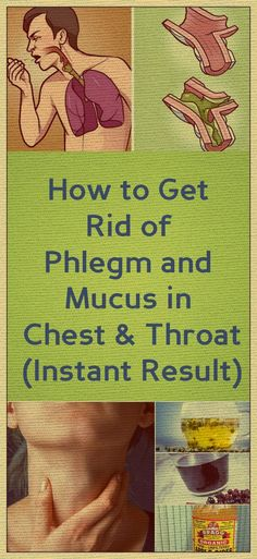 Remove Mucus and Phlegm From Your Throat and Chest Instantly With This Natural Remedy