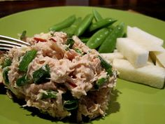 Waldorf Tuna Salad - I'll admit I won't be making homemade mayo but sounds yummy and is a nice quick meal!
