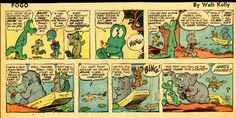 8. Pogo - The 25 Best Sunday Comic Strips of All Time | Complex
