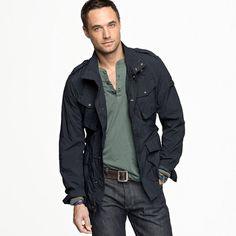 Woolrich John Rich & Bros.™ travel jacket  $395.00 via @valetmag