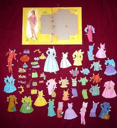 Hayley Mills paper doll