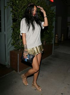 "Rihanna leaving ""Giorgio Baldi"" Restaurant in Los Angeles"