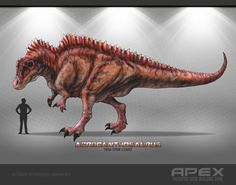 Acrocanthosaurus by Herschel-Hoffmeyer on DeviantArt