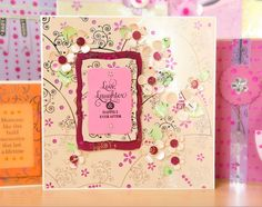 Lovely card design made using the Create and Craft Jewellery Foil Card Kit! / cardmaking / papercraft / scrapbooking / greeting card