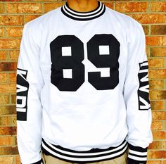 Karl Kani! A must have for my crew neck collection