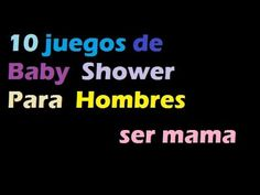 baby shower / muy comico los hombres embarazdos - YouTube Juegos Baby, Youtube, Baby Shower Games, Fun Games, Learning, Feelings, Activities, Youtubers, Youtube Movies
