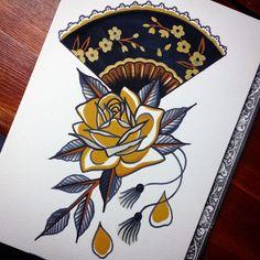 Cassandra Frances // @cassandra_frances // Traditional tattoo