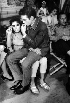 Elizabeth Taylor and Montgomery Clift ❀ @some1any1 ❀