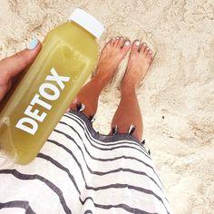 Sunday Agenda: Detox + Beach @montaukjuicefactory