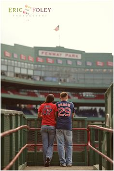 engagement photo pure fenway perfection