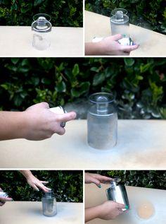 Krylon Looking Glass Spray Paint - DIY candlelit wedding table numbers!!!