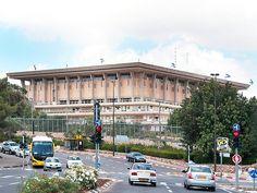 Jerusalem, Israel - Public Spaces, The Knesset (הכנסת), national legislature of Israel, Givat Ram neighborhood #Knesset