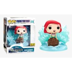 Disney The Little Mermaid Funko POP! Hot Topic Exclusive - Ariel (Finding Your Voice) - Tesla's Toys Disney The Little Mermaid Funko POP! Hot Topic Exclusive - Ariel (Finding Your Voice) Funko Pop Dolls, Funko Pop Figures, Pop Vinyl Figures, Little Mermaid Movies, The Little Mermaid, Pop Disney, Ariel Disney, Mermaid Disney, Disney Dolls
