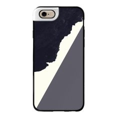 Contemporary Modern Minimalistic Black, Grey, and White Abstract Art -... ($50) ❤ liked on Polyvore featuring accessories, tech accessories, iphone case, white iphone case, iphone cases and apple iphone cases