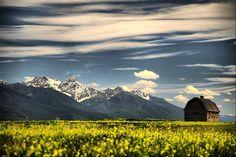 Missions Barn Flathead Valley Montana