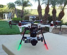 F550 NEX-5N/7 2-Axis Gimbal/Integrated Landing Gear, TPpacks.com