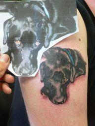 dog tattoos | Dog Ta - http://kickasstattoos.net/dog-tattoos-dog-ta/: