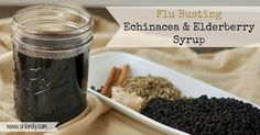 Add this flu busting echinacea and elderberry syrup to your medicine cabinet and fight cold and flu this winter!