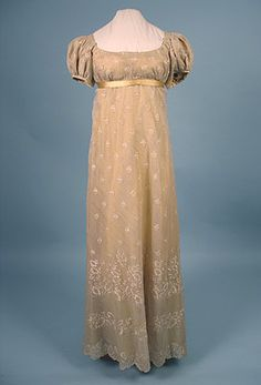 Evening dress, ca 1810