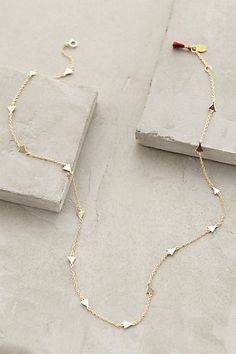 ophelia rose gold necklace #anthrofave