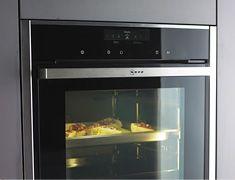 Der FullSteam Backofen von NEFF ist in kompakter Einbauhöhe von 45 cm oder mit 60 cm Gerätehöhe erhältlich. #Küchenplanung
