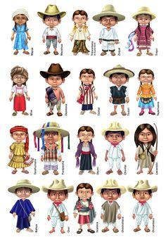 Atuendos Etnias Mexicanas