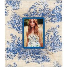 toile picture frame