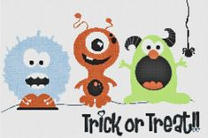 10+Halloween+Inspired+Cross+Stitch+Patterns+for+Spooky+Stitching