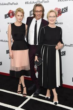 Mamie Gummer, Rick Springfield & Meryl Streep - 'Ricki and the Flash' New York Premiere