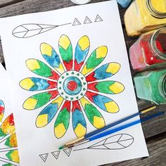 Let's gather the kids and make a sand painting kid craft today! This is a great activity for the whole family. While you are making this kid craft, you cantalk about American history and explore a fun art project inspired by Native American art. I'll show you how to make your own sand and then …