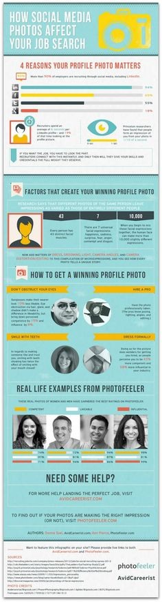 #Infographic: What recruiters really think of your social media photos