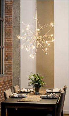 Random Orbit chandelier...swoon!