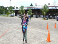Me at Puerto Maldonado airport