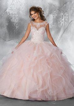 Quinceanera Dress 89198 Vizcaya Collection
