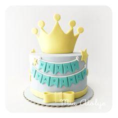 prens temalı pasta
